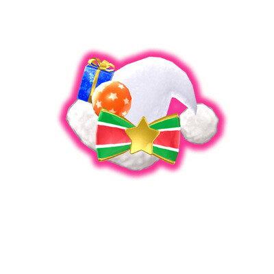 キラッとプリ☆チャン/PCH5-62 クリスマスサンタホワイトヘアアクセ SR