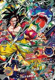 ドラゴンボールヒーローズJM03弾 HJ3-SEC2 孫悟空:GT UR