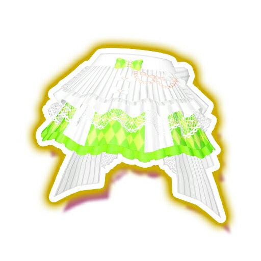キラッとプリ☆チャン/PCH3-20 サマーメイドホワイトリーフスカート SR