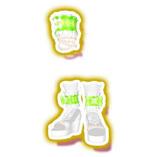 キラッとプリ☆チャン/PCH3-21 サマーメイドホワイトリーフシューズ SR