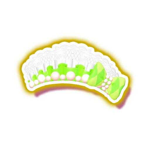 キラッとプリ☆チャン/PCH3-22 サマーメイドホワイトリーフヘアアクセ SR