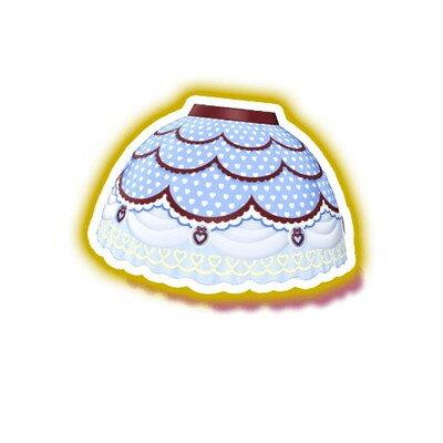 キラッとプリ☆チャン/PCH6-116 ホワイトデーラブパープルスカート SR