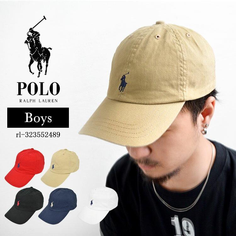 キャップ POLO RALPH LAUREN ポロ ラルフローレン ベースボールキャップ ボーイズ ベースボール 帽子 メンズ レディース
