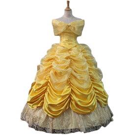 コスチューム コスプレ 衣装 ベル ドレス プリンセスドレス プリンセス 仮装 大きいサイズ 女性 レディース なりきり 大人用 コスプレ衣装 美女と野獣 ロングドレス 大人 忘年会 可愛いコスプレ かわいい 余興 可愛い イベント 宴会 パーティー