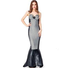 ハロウィン 人魚姫 スパンコール マーメイド ドレス 女性用 レディース | コスプレ衣装 コスチューム 仮装 衣装 コスプレ クリスマス 大人用 ワンピース 大人 人魚 セクシー かわいい 可愛い コス