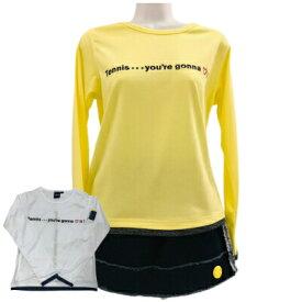 【送料無料】Kea キア LT071レディース ハート ロング Tシャツかわいい おしゃれ テニスウェア スポーツウェア