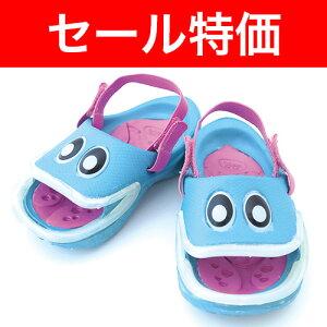 セール特価!!【子供用シューズ・サンダル】ポリウォークスグッピー GUPPIESターコイズ