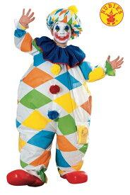 送料無料 ハロウィンコスチューム ルービーズ インフレータブルピエロ 子供コスチューム Rubie`s Clown 変装グッズ コスプレ衣装 コスプレ Hallween キッズコスチューム チャイルドコスチューム hween_d19