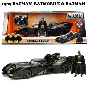 JADATOYS 1/24 1989 BATMAN BATMOBILE W/BATMANミニカー【バットモービル】【jada ミニカー】リターンズ DC COMIC バットマンミニカー 車