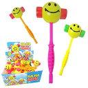 スマイル ピコピコ ハンマー 3色あり 色指定不可 24個入りセット ディスプレイボックス付き 子供おもちゃ toy お…