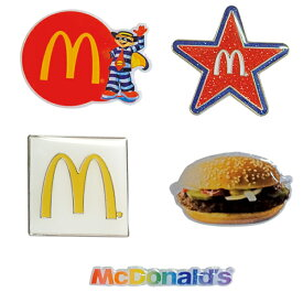 McDonald's PINS series 7【マクドナルド ピンズ】アメ雑貨