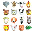 アニマル マスク 動物お面 お面動物 仮装 お面 マスク  アニマルマスク ビーグル ブルテリア ネコ クマ シマウ…