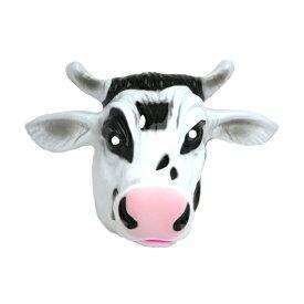 【アニマルマスクウシ】動物お面 仮装 お面 マスク コスプレ クリスマス ハロウィン 牛お面 動物お面 COW MASK 仮面 うし パーティーグッズ イベンド用品