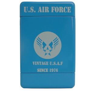 アルミ シガレットケース U.S.AIR FORCE【USAF/エアフォース】【喫煙者必見!超豊富な柄】【灰がこぼれにくい】 【タバコ アメ雑 アメリカン雑貨 】【男性へのプレゼントに!】