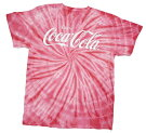 COCACOLATIE-DYETシャツT263-MレッドアメリカメイズMサイズコカ・コーラtシャツコカコーラグッズメンズ半袖tシャツuネックtシャツアメカジtシャツカジュアルtシャツロゴ印刷tシャツプリントtシャツコットン絞り染tシャツオシャレtシャツ