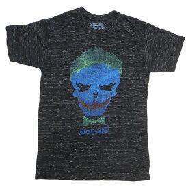 【本日限定ポイント5倍】SUICIDE SQUAD JOKER Tシャツ T312-M ブラック アメリカメンズMサイズ DC COMICStシャツ メンズ半袖tシャツ アメカジ アメリカ カジュアルtシャツ
