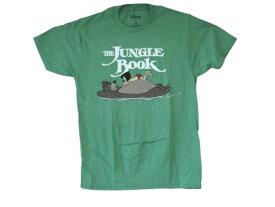 Tシャツ JUNGLE BOOK 177T-M ジャングルブックTシャツ Disney T-SHIRT ディズニーTシャツ 映画Tシャツ メンズ半袖Tシャツ Uネック アメカジ アメリカン カジュアル ロゴ印刷 ト