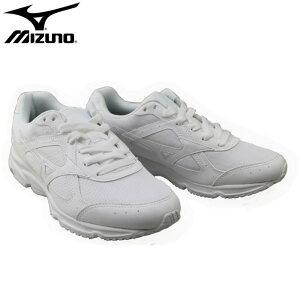 【あす楽対応】ミズノ(mizuno)ランニングシューズ(通学 通学用 白 ランニング ジョギング 運動靴 体育祭 学生 中学生 中学校 ホワイト 白靴 メンズ レディース ジュニア)G1GB1807