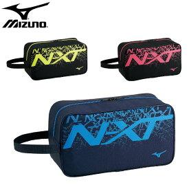 【あす楽対応】ミズノ(mizuno)N-XT シューズケース(シューズバッグ シューサック シューズ入れ 靴入れ メンズ レディース メンズ レディース バッグ かばん)33JM0521