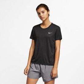 【あす楽対応】ナイキ(nike)ウィメンズ マイラー S/S トップ(レディース Tシャツ 半袖 シャツ トレーニングウェア ランニング ジョギング ジム トレーニング)AJ8122