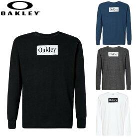 【あす楽対応・送料無料!】オークリー(OAKLEY)長袖Tシャツ Enhance QDC LS Tee 10.7(メンズ ロンT 長袖 ロングスリーブシャツ トップス シャツ Tシャツ カジュアル 運動 スポーツ トレーニング)FOA401654