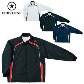 コンバース(CONVERSE)ウォームアップ ジャケット(メンズ レディース ウインドブレーカー トレーニング 運動 スポーツ チーム 名入れ バスケ アウター)CB162501S