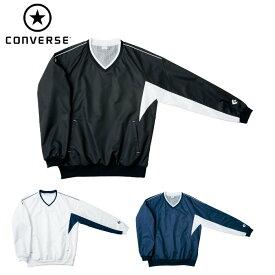 コンバース(CONVERSE)Vネック ウォームアップ ジャケット(メンズ レディース アウター バスケ トレーニング 運動 スポーツ チーム 名入れ ウインドブレーカー かぶり)CB162508S