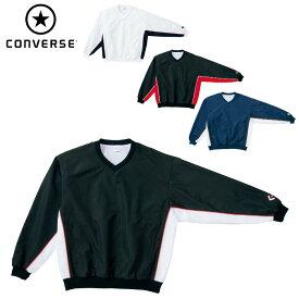 コンバース(CONVERSE)Vネック ウォームアップ ジャケット(メンズ レディース ウインドブレーカー かぶり トレーニング 運動 スポーツ チーム 名入れ バスケ)CB182113S