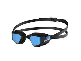 SWANS(スワンズ) SR72MMITP VALKYRIE BLBK(741)(水泳 プール ゴーグル 用品 メンズ レディース ジュニア キッズ 子供 用品 スイム スイミング)