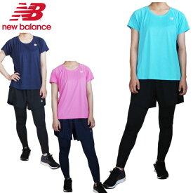 【あす楽対応】ニューバランス(New Balance)レディース ランニング3点セット(Tシャツ ショーツ パンツ タイツ ランニング セットアップ トレーニングウェア)WT93868-WS93828-WP91880