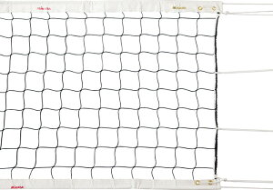 【送料無料】ミカサ(MIKASA) FIVB公認 バレーボール用ネット AC-NT200 (バレーネット 固定支柱用 インドア用 ケース付き)