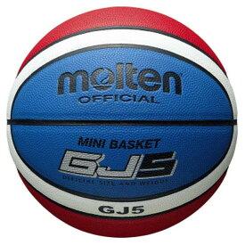 モルテン(Molten) バスケットボール 5号球 GJ5 (人工皮革 小学校 小学生用 ミニバス) BGJ5C