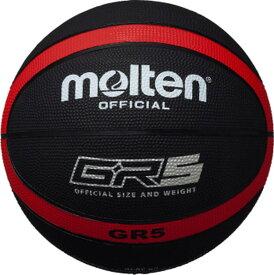 モルテン(Molten) バスケットボール 5号球 GR5 (ゴム製 小学校 小学生用 ミニバス) BGR5KR
