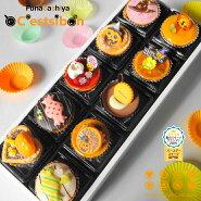 まるでケーキの宝石箱☆プチケーキ(10個入)
