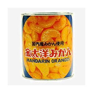 【訳あり】金太洋 みかん 国内産みかん使用 830g×12缶