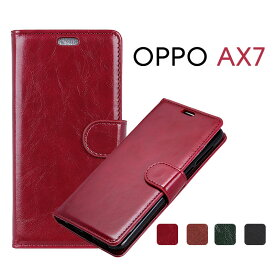 OPPO AX7ケース 手帳型 oppo ax7 ケース カード収納 oppo ax7専用ケース 手帳 oppo ax7 カバー 高品質oppo 耐衝撃 OPPO AX7手帳ケース おしゃれ oppo ax7保護カバー かわいい スマホケース OPPO AX7 レザー 磁石 人気