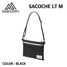 【国内正規品】【GREGORY グレゴリー】SACOCHE LT M サコッシュ LT M BLACK ブラック メンズ レディース
