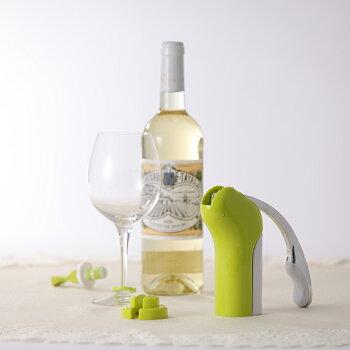 【送料無料】ラクリスコルクスクリューセットワインオープナーフォイルカッター付ファンビーノ簡単おすすめギフト