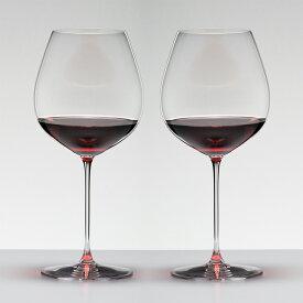 リーデル ヴェリタス オールドワールド ピノ・ノワール ワイングラス 2脚入り 6449/7 RIEDEL VERITAS
