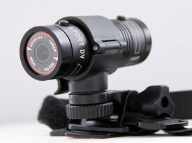 1080P高画質スポーツカメラ 500万画素 広角135度レンズ バイク・自転車用に最適 フルHD&最大60fps録画対応 堅牢アルミニウムボディ F9