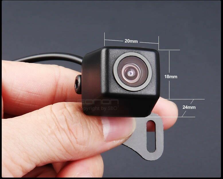 バックカメラ 暗視対応 42万画素 ガイドライン有 安さに挑戦! 高画質CMD 防水 BK119NEW