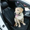 ペットシートカバー ブラック限定 防水仕様 犬ペット 抜け毛やシートの汚れ対策に 撥水座席シート 汚れから車シートを…