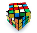 キューブパズル4×4上級者向けスピードキューブ世界基準配色回転スムーズ知育おもちゃ立体パズル暇つぶし高齢者ボケに脳トレ6面パズルキューブMOF40BK