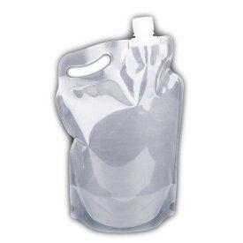 2L ソフトボトル 2リットル 軽量 折り畳み式 コンパクト 給水 キャンプ 防災 登山 アウトドア 熱中症対策 夏遊び備品 持ち運び便利 重複利用可 2L 水袋 WATP2L