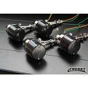 【253】 デカヨーロピアン ウインカー スモーク 4個セット アルミ製 デカヨーロピ Z400FX SRX400 SR400 TW225 ゼファ…