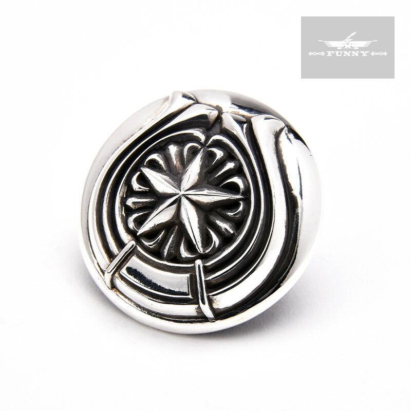 カバレロコンチョ 31mm CABALLERO CONCHO コンチョ スターリングシルバー 925 カスタムパーツ FUNNY ファニー