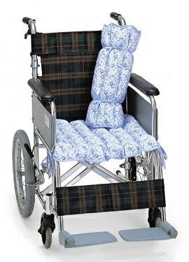 【ピジョンハビナース】ビーズパット8型 【多目的用】車いす対応サイズ姿勢保持・床擦れ予防に。筒状にするとベッドでの体位・姿勢保持に。パッドを連結し、太さを変えることもできます。