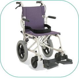 車椅子/簡易車いす/旅行用旅ぐるまシリーズ KA6プラム【カワムラサイクル】コンパクトに折りたたみ旅行や移動が楽々コンパクト車いす【送料無料】【非課税】※メーカー欠品※お届けにお時間が掛かる場合があります。 敬老の日