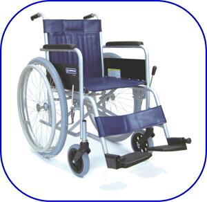 車椅子/カワムラサイクルスチール製車いす KR-801Nソリッド 座幅42cm【折りたたみ式 背折れナシ】介助ブレーキナシベーシックタイプ:室内 施設内向けSPL%OFF 敬老の日