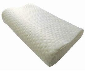 快眠 低反発枕 「すやすや」 首・頭・肩をやさしく支える 人間工学に基づいた立体構造 いびき防止 頸椎サポート 肩こり対策 安眠マクラ 枕カバー付き AC-003